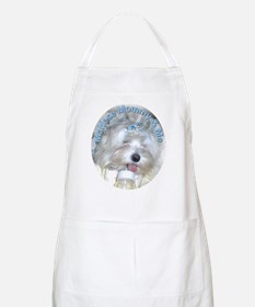 Maltese Mommy & Me BBQ Apron