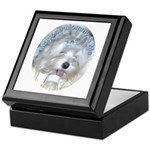 Maltese Mommy & Me Keepsake Box