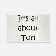 Tori Rectangle Magnet