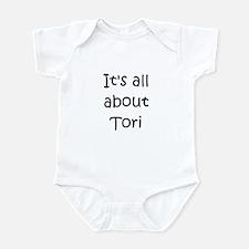 Funny Tori Infant Bodysuit