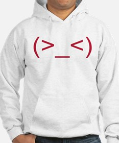 Frustrated Smiley Emoticon Hoodie