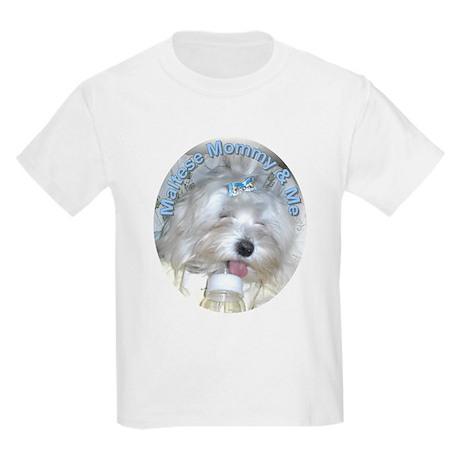 Maltese Mommy & Me Kids T-Shirt