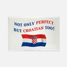 Perfect Croatian 2 Rectangle Magnet