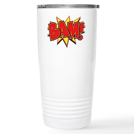 Bam III Stainless Steel Travel Mug