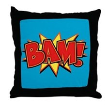Bam III Throw Pillow