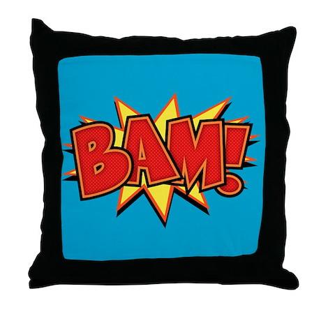 Bam III Throw Pillow