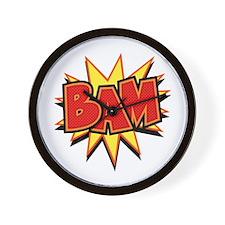 Bam III Wall Clock