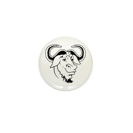 GNU Mini Button (10 pack)