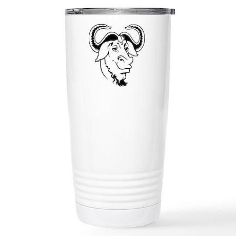 GNU Stainless Steel Travel Mug