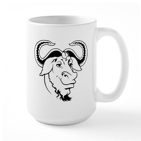 GNU Large Mug