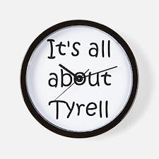 Cute Tyrell Wall Clock