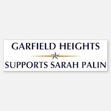 GARFIELD HEIGHTS supports Sar Bumper Bumper Bumper Sticker