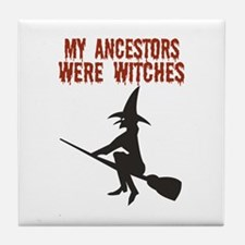 Ancestor Witches Tile Coaster