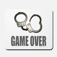 HANDCUFFS/POLICE Mousepad
