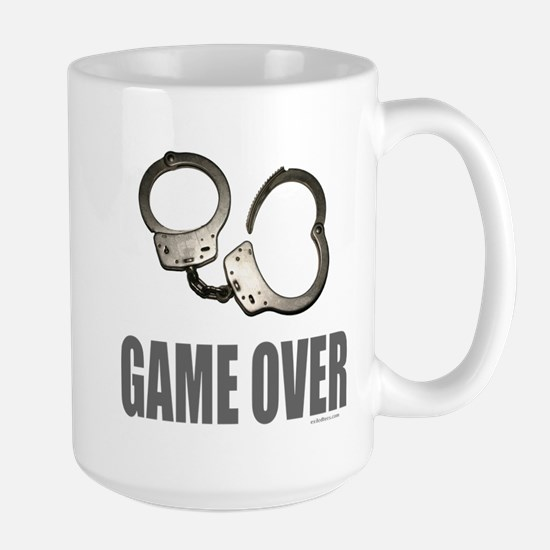 HANDCUFFS/POLICE Large Mug