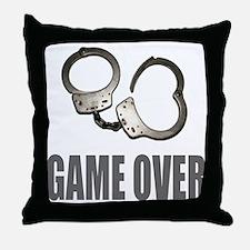 HANDCUFFS/POLICE Throw Pillow