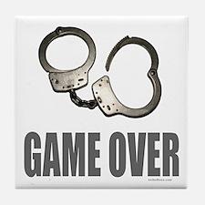 HANDCUFFS/POLICE Tile Coaster