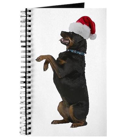 Santa Rottweiler Journal