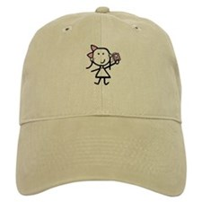 Girl & iPod Baseball Cap