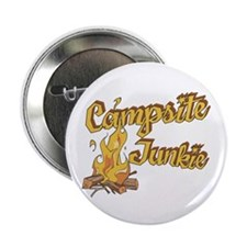 "Campsite Junkie 2.25"" Button"
