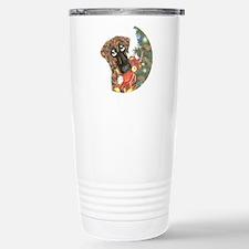Holiday Nbr Bear Stainless Steel Travel Mug