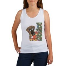 Holiday Nbr Bear Women's Tank Top