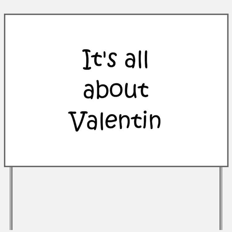 Cute Valentin Yard Sign