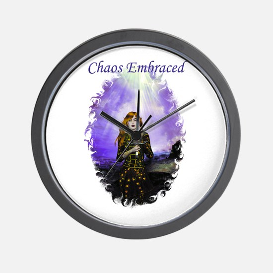 Chaos Embraced Wall Clock