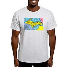 Michigan Northern Upper Peninsula (Front) T-Shirt