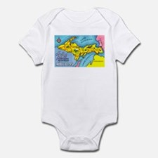 Michigan Northern Upper Peninsula Infant Bodysuit