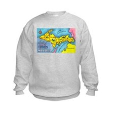 Michigan Northern Upper Peninsula (Front) Sweatshirt