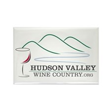 Hudson Valley Wine Country Rectangle Magnet