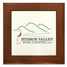 Hudson Valley Wine Country Framed Tile