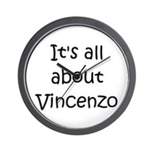 Funny Vincenzo Wall Clock