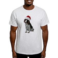 Springer Spaniel Santa T-Shirt