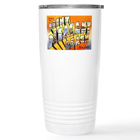 Point Pleasant Beach NJ Stainless Steel Travel Mug
