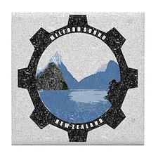 Milford Sound Vintage Tile Coaster