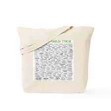 Cute Egypt map Tote Bag