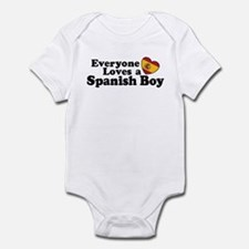Everyone Loves a Spanish Boy Infant Bodysuit