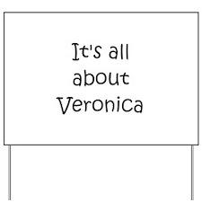 Funny Veronica Yard Sign