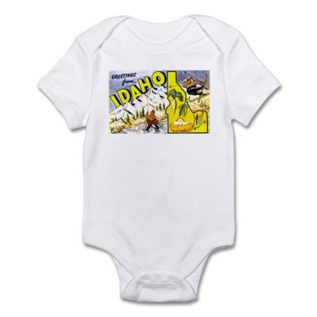 Idaho State Greetings Infant Bodysuit