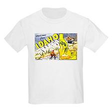 Idaho State Greetings (Front) T-Shirt