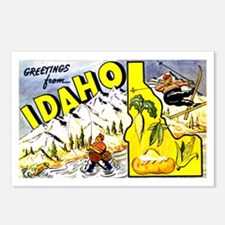 Idaho State Greetings Postcards (Package of 8)