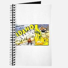 Idaho State Greetings Journal