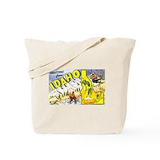 Idaho State Greetings Tote Bag