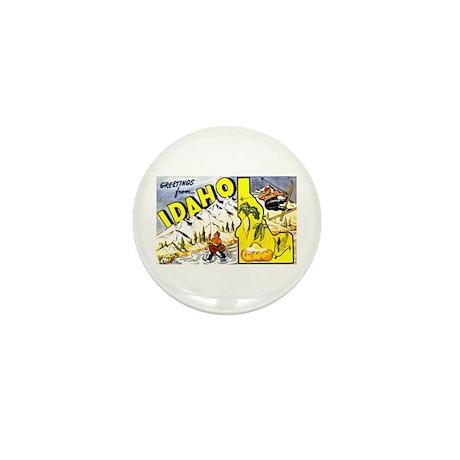 Idaho State Greetings Mini Button (10 pack)