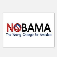 Anti-Obama NOBAMA Postcards (Package of 8)