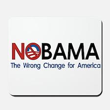 Anti-Obama NOBAMA Mousepad