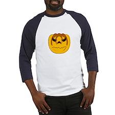 Angry Pumpkin Baseball Jersey