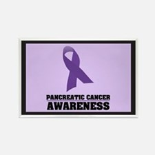 Pan. Cancer Awareness Rectangle Magnet